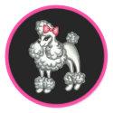 Poodle Sticker sticker