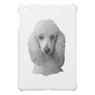 Poodle - Stylized Image - Add Your Own Text iPad Mini Case
