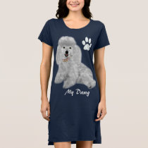 Poodle T-Shirt Dress