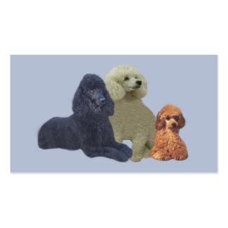 Poodle Trio Business Card