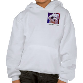 Poodle Hooded Pullover