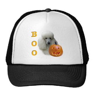 Poodle (White Coated) Boo Hat