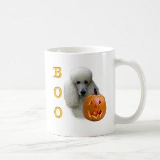 Poodle (White Coated) Boo Coffee Mugs
