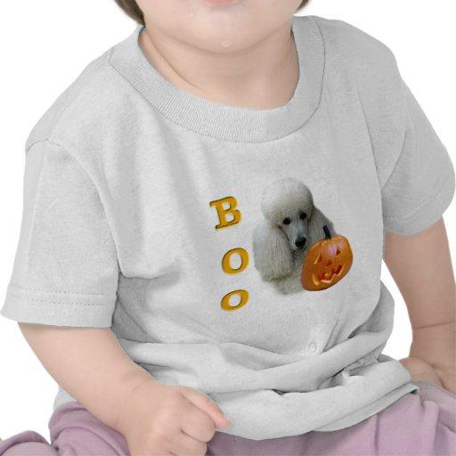 Poodle (White Coated) Boo Tshirts