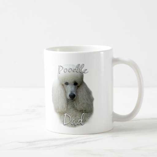 Poodle (wht) Dad 2 Coffee Mug