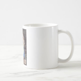 Poodle with the Pearl Earring Classic White Coffee Mug