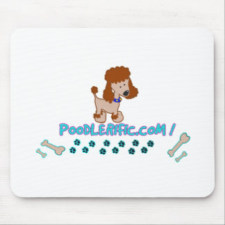 Poodlerific Doggy Goodness !! Mouse Pad