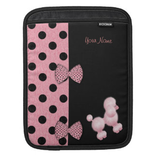 Poodles And Bows Sleeve For iPads