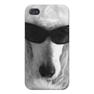 Poodles are Cool iPhone 4 Case