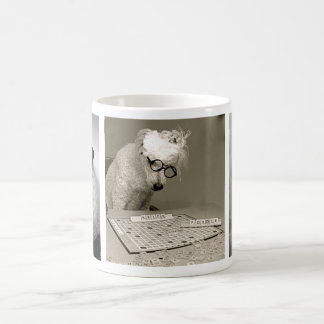 Poodles are Hip, Smart & Chic! Classic White Coffee Mug