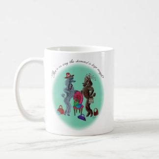 Poodles n Diamonds Coffee Mug