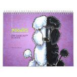 Poodles Off-Leash Art™ Vol 1 Calendar