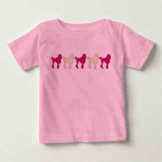 Poodles On Parade Baby T-Shirt
