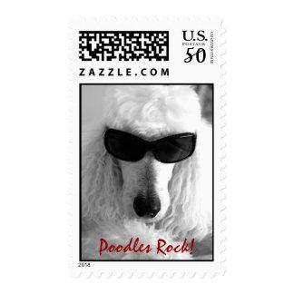 Poodles Rock! Postage