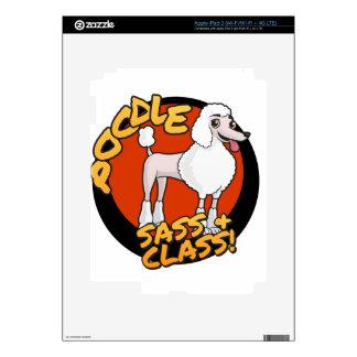 Poodles - Sass & Class iPad 3 Skins