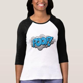 ¡Poof cómico del arte pop! Camiseta