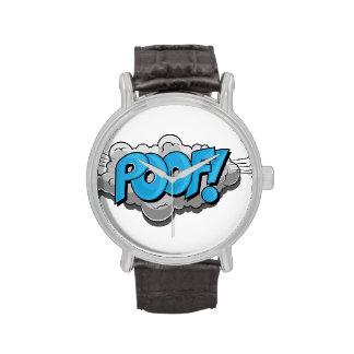 ¡Poof cómico del arte pop! Reloj De Mano