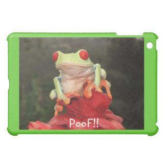 """¡PooF del iPad """"!! """" Cubierta de la rana"""