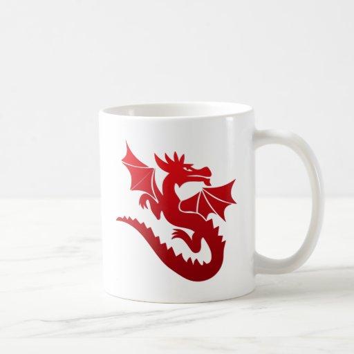 Poof el dragón mágico taza de café