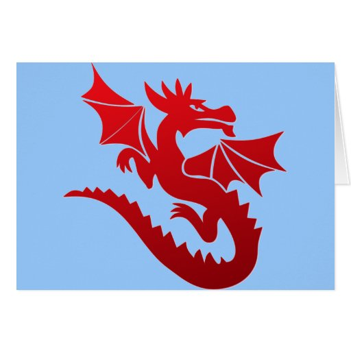 Poof The Magic Dragon Greeting Cards