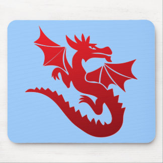 Poof The Magic Dragon Mouse Pad