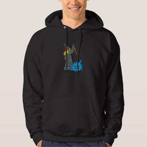 Poof your a frog! hooded sweatshirts