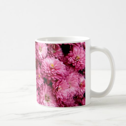 Poofs rosados taza de café