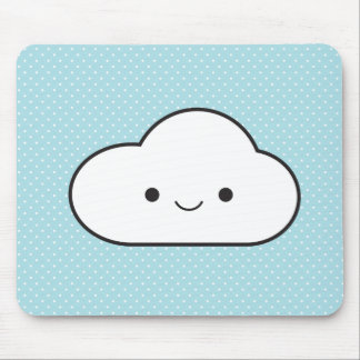 Poofy Cloud Mouse Pad