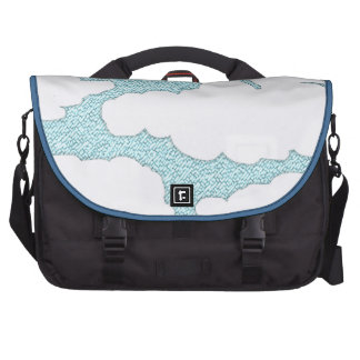 poofy clouds bag for laptop