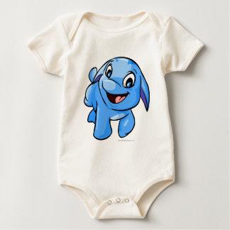Poogle Blue Baby Bodysuit