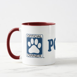 Poogle Blue Mug