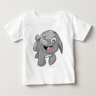 Poogle Silver Baby T-Shirt