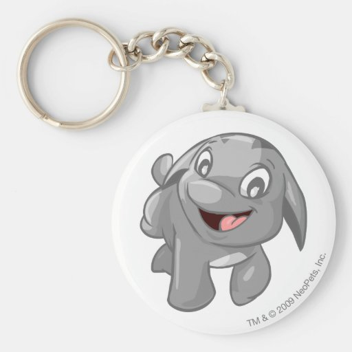 Poogle Silver Keychains