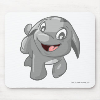 Poogle Silver Mouse Pad