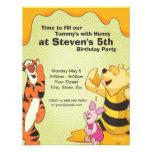 Pooh and Pals Birthday Invitation Invite