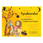 Pooh and Pals Halloween Party Personalized Invite