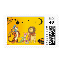 Pooh and Pals Halloween Postage