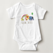 Pooh and Pals Under the Rainbow Baby Bodysuit