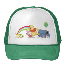 Pooh and Pals Under the Rainbow Trucker Hat