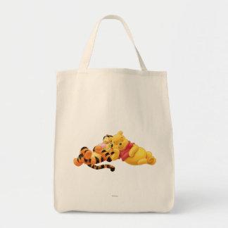 Pooh and Tigger Canvas Bag
