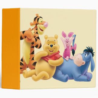 Pooh & Friends 10 Binder
