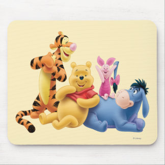 Pooh & Friends 10 Mouse Pad