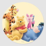 Pooh & Friends 10 Stickers