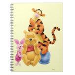 Pooh & Friends 11 Note Book