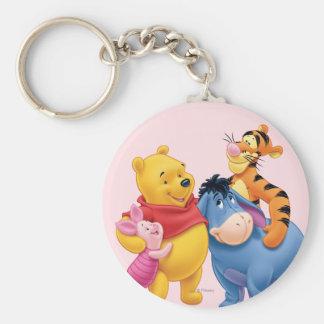 Pooh & Friends 1 Keychain