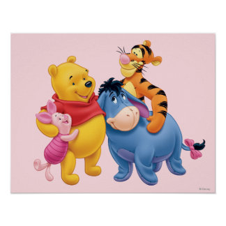 Pooh & Friends 1 Poster