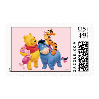 Pooh & Friends 1 Stamp