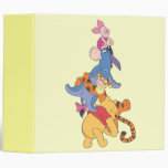 Pooh & Friends  2 3 Ring Binder