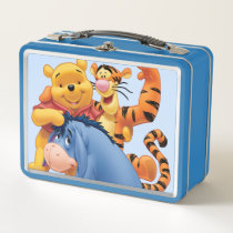 Pooh & Friends 3 Metal Lunch Box