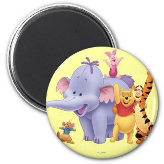 Pooh & Friends 4 Magnet